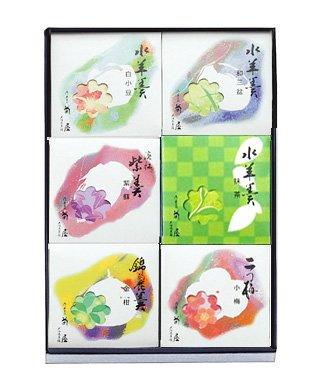 菊屋 夏の涼菓詰め合せ 水ようかん6個入