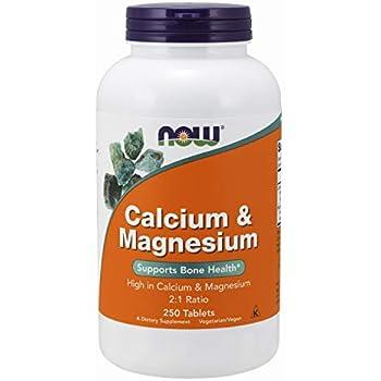 カルシウム&マグネシウム 250錠(海外直送品)