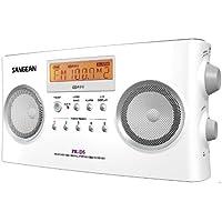 PR-D5P デジタルチューニング RDS ポータブル ラジオ Sangean社 White【並行輸入】