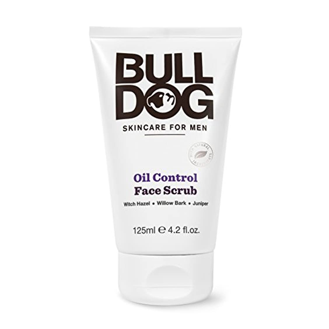 悪の寄生虫プラカードブルドッグ Bulldog オイルコントロールフェイススクラブ(洗顔料) 125m