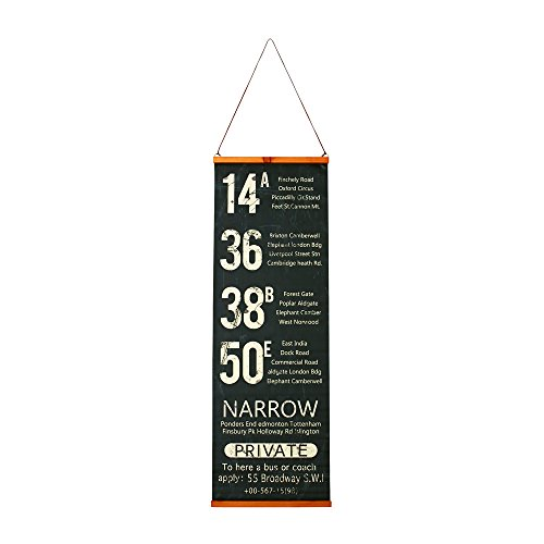 RoomClip商品情報 - インターフォルム タペストリー Narrow ブラック カフェ仕様  ブラック  GD-1256 GD-1256BK