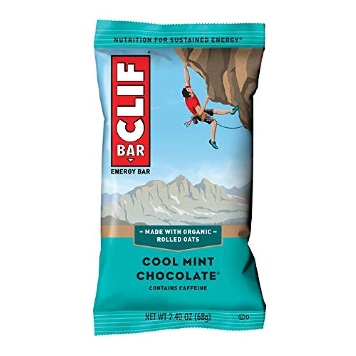 周囲アライアンスサンプル- Organic Cool Mint Chocolate - Case of 12-2.4 oz by Clif Bar
