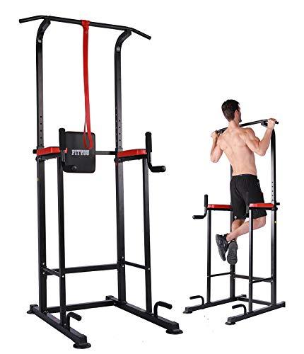 Fityou ぶら下がり健康器 懸垂マシン チンニングスタンド 耐荷重150kg B07WYX3193 1枚目