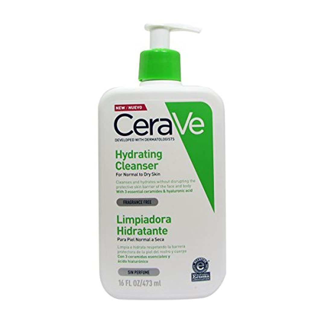 火炎郵便物管理者Cerave Moisturizing Cleansing Lotion 473ml [並行輸入品]