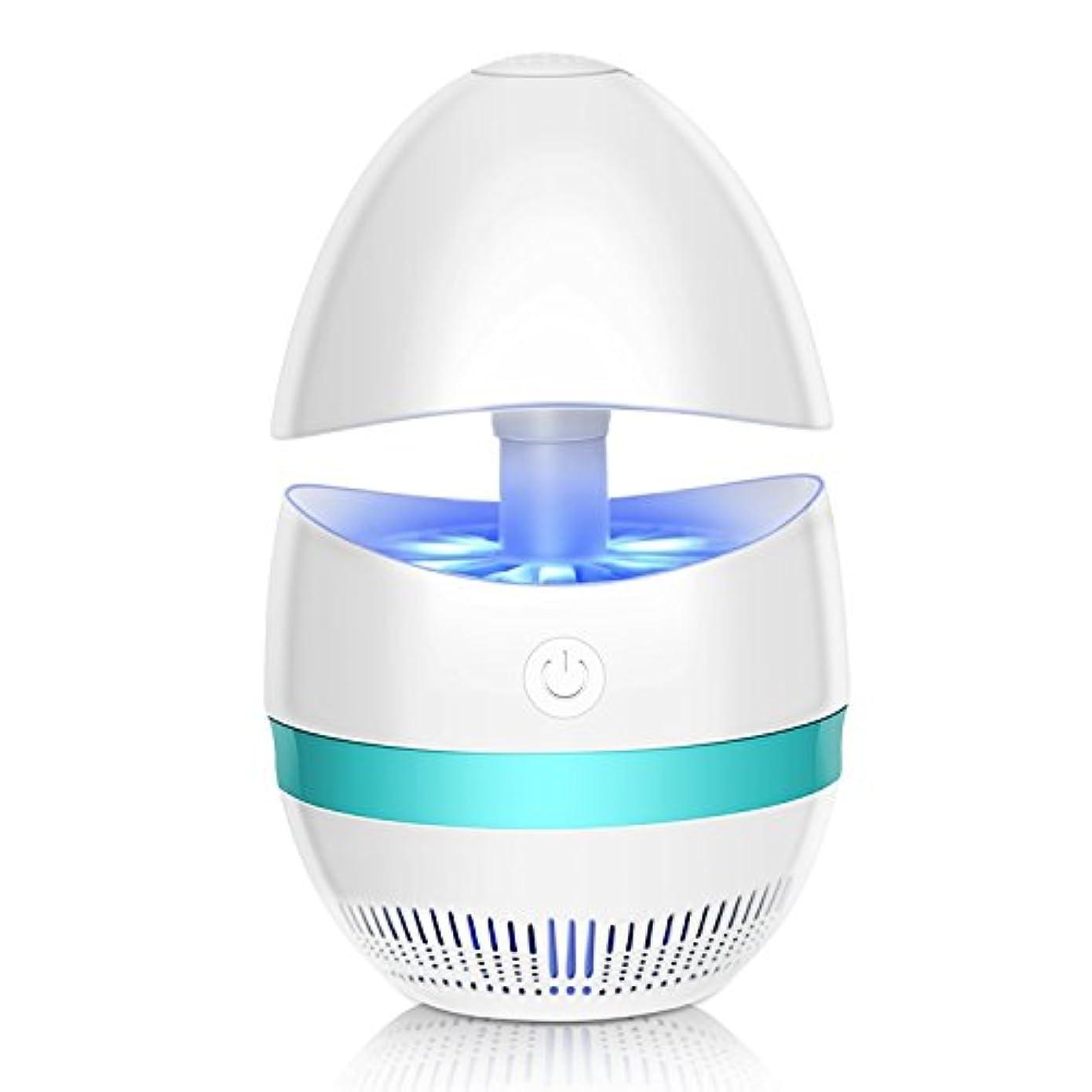 面倒現象赤ちゃん電子屋内蚊虫キラーザッパー、USB電源LED蚊ライト内蔵ファン