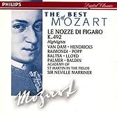 モーツァルト : 歌劇「フィガロの結婚」ハイライト