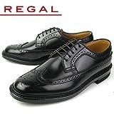 [リーガル] REGAL メンズ 靴 ウィングチップ ビジネスシューズ 2E 2589N ブラック 24.5cm