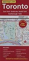 Toronto Ontario - Easy to Read Street Map【洋書】 [並行輸入品]