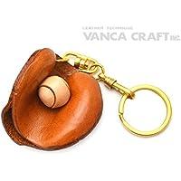 キャッチャーミット 本革製 立体キーホルダー 野球 VANCA CRAFT 革物語 (日本製 ハンドメイド)