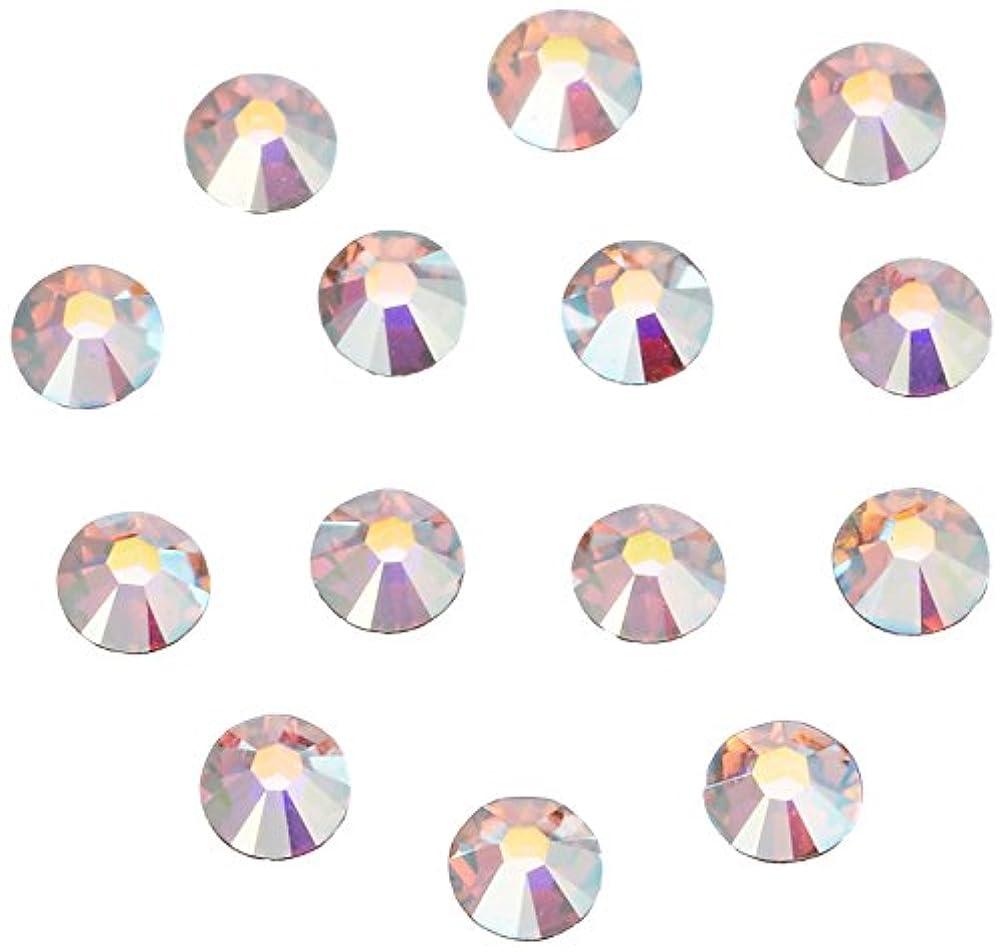 オズワルド忙しい知覚するネイルアートパーツ クリスタルAB SS5:1.8~1.9mm 240P