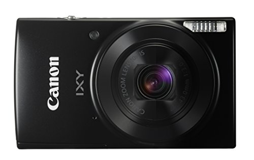 Canon デジタルカメラ IXY 190 ブラック 光学10倍ズーム IXY190BK -
