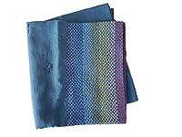 iimon レインボー・ノクシカタ ストール Bangladesh フェアトレード商品 (藍色)