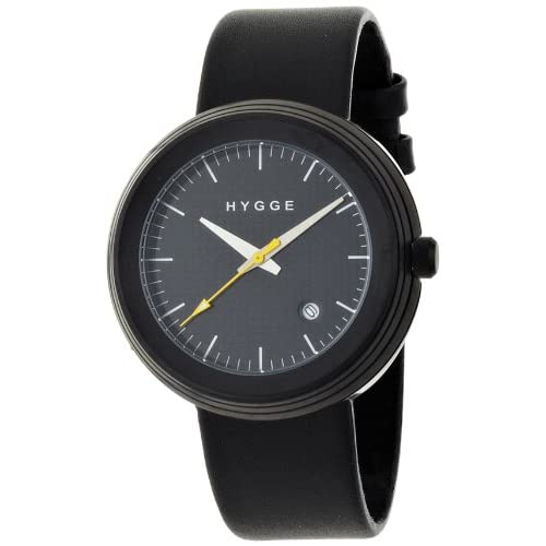 [ヒュッゲ]HYGGE 2311 SERIES Leather/Black dial Black case MSL2311BD(BK) 【正規輸入品】