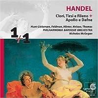 ヘンデル:カンタータ「アポロとダフネ」、3声のカンタータ「クローリ、ティルシとフィレーノ」HWV96(2CD) [Import] (CLORI / TIRSI E FILENO / APOLLO E DAFNE|CLORI / TIRSI E FILENO / APOLLO E DAFNE)