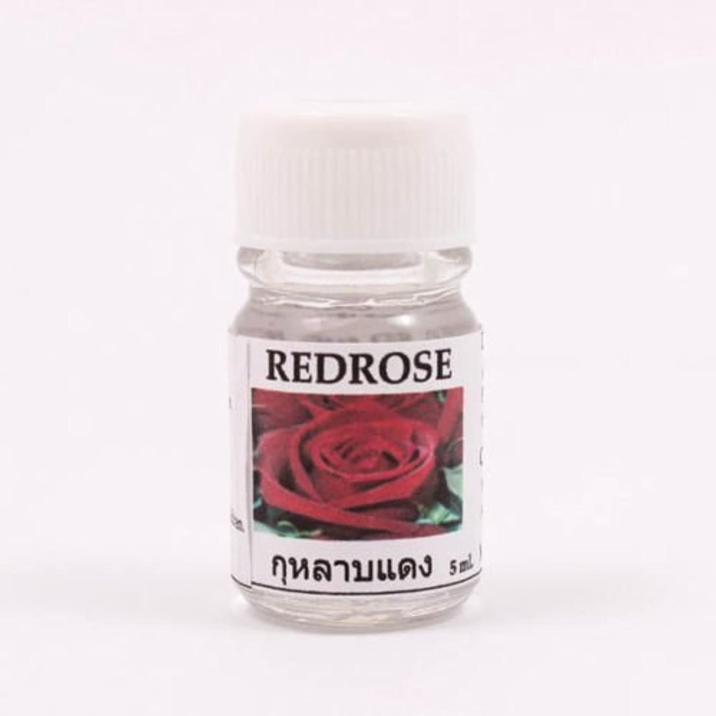 特殊適合する木製6X Red Rose Aroma Fragrance Essential Oil 5ML (cc) Diffuser Burner Therapy