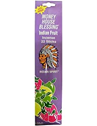Money House Blessing Incence Indian Fruit スティックインセンス