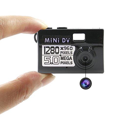 UYIKOO 超コンパクトカメラ MINI DV (MDV-...