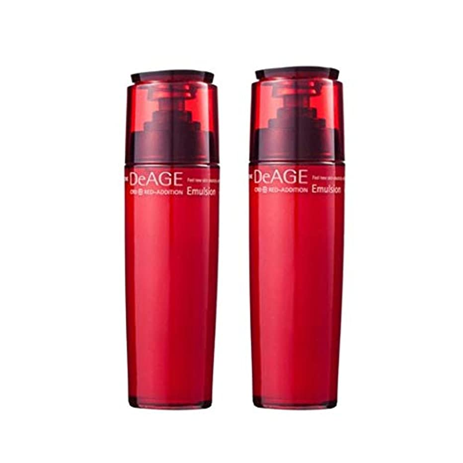 前投薬許可エステートチャムジョンディエイジレッドエディションエマルジョン130ml x 2、Charmzone DeAGE Red-Addition Emulsion 130ml x 2 [並行輸入品]