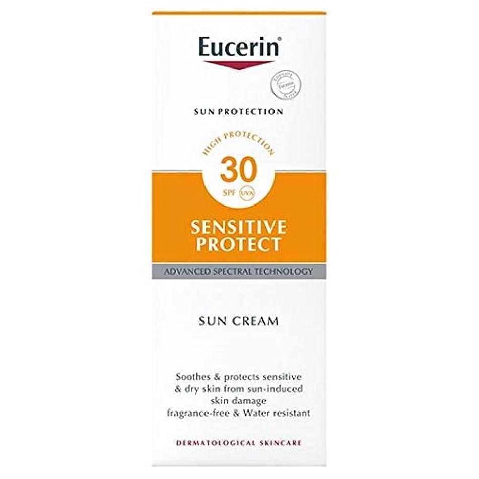 マウント腹痛観光に行く[Eucerin ] ユーセリン敏感プロテクト日クリームSpf30の50ミリリットル - Eucerin Sensitive Protect Sun Cream SPF30 50ml [並行輸入品]