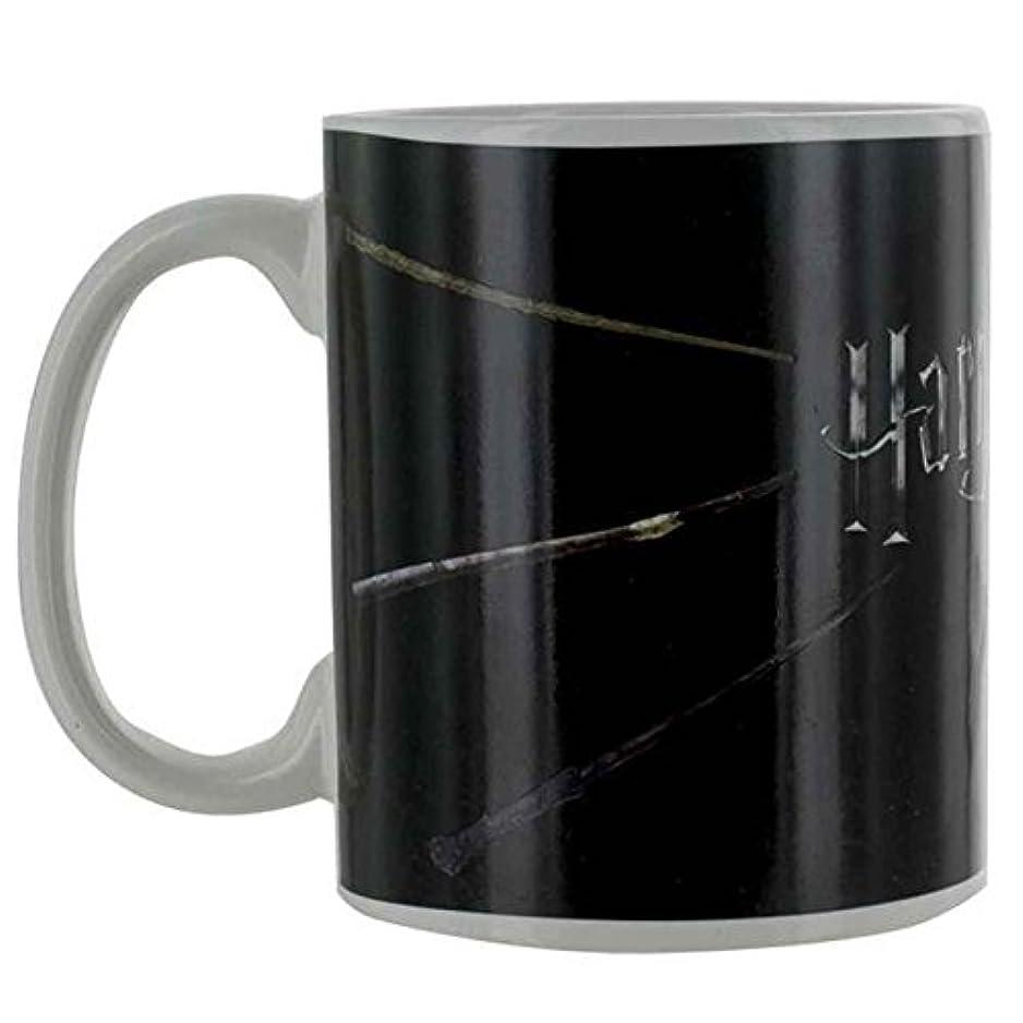 金銭的スタジオアーサーHarry Potter マグカップ Heat Changing Magic Wands Logo 新しい 公式