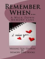 Remember When.: Miss You Edition [並行輸入品]
