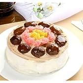 お誕生日ケーキ!  有機豆乳のモンブランシフォンケーキ  【ハンプティ・ダンプティ】