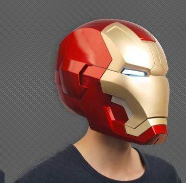 KIllerbody 1/1 アイアンマン マーク3 ヘルメット コスプレ cosplay道具 着用できる LED付き 正規品