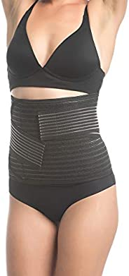 UpSpring Baby Shrinkx Belly Bamboo Charcoal Postpartum Belly Band and Waist Trainer for Postpartum Support, Po