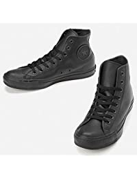 コンバース(Converse) 【コンバース】【定番】スニーカー(LEAオールスターHI)【ブラックモノクローム/25.0】