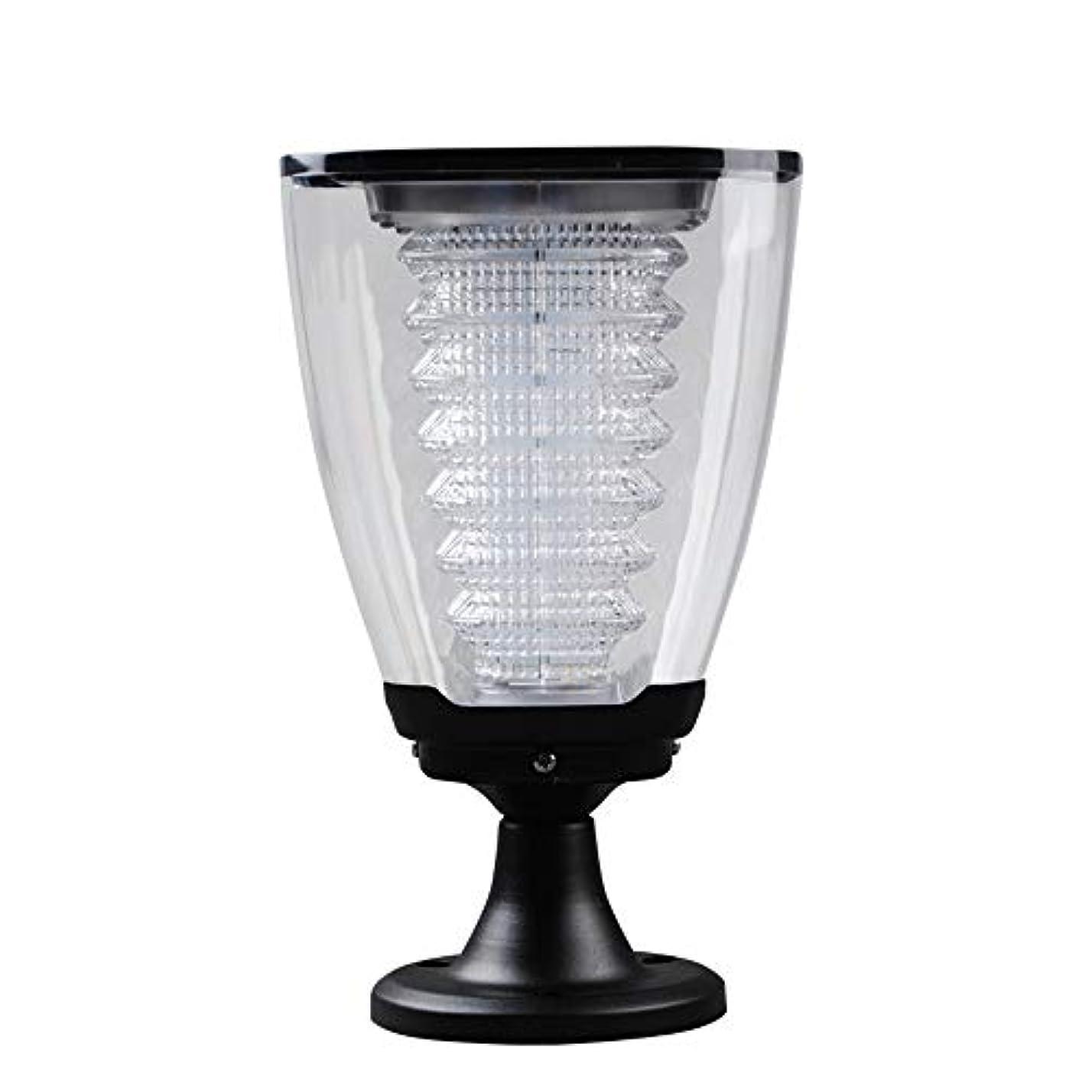情報マチュピチュ胸Pinjeer Led現代クリエイティブ屋外防水コラムライトヨーロッパ金属アルミガラスポストライトガーデンドアストリートパークヴィラホーム照明柱ランプ