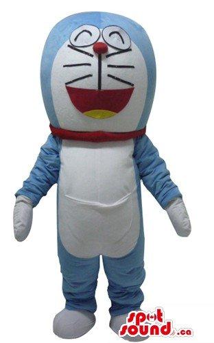 ホットドラえもん青猫の漫画のキャラクターをマスコットカナダの衣装をSpotSound