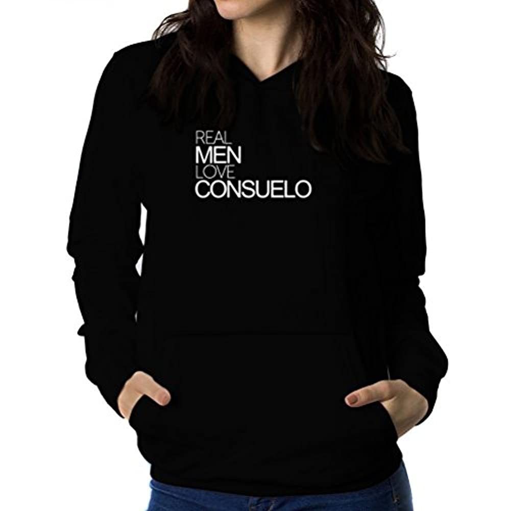 巡礼者余分な別々にReal men love Consuelo 女性 フーディー