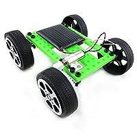 おもちゃ・ホビー ミニ太陽動力を与えられたおもちゃの車DIYキット教育面白いモデル インテリジェンスおもちゃ