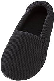 介護シューズ あゆみ エスパド 室内用 ブラック 3Lサイズ(26.5~27.5cm) 足囲3E相当 両足