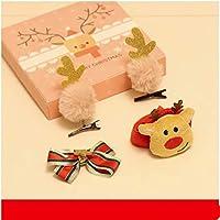 クリスマスメガネフレームヘアピンヘッドバンドヘッドバンドティアラフラッフクリスマスデコレーションクリスマスプレゼントギフト子供