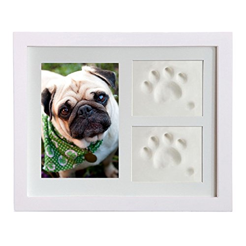 AWHAO フォトフレームDIY インクパッド 手と足を印刷する 愛猫 愛犬 誕生日プレゼント 小型犬足  足型 記念 誕生  写真立て オシャレ 家族写真 装飾壁のステッカー