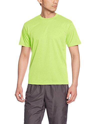[グリマー] 半袖 4.4oz ドライTシャツ (クルーネック) 00300-ACT ライトグリーン 3L (日本サイズ3L相当)
