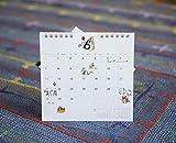ほぼ日ホワイトボードカレンダー2020 ファイルポケットつき 卓上 GCL2001N00300 画像