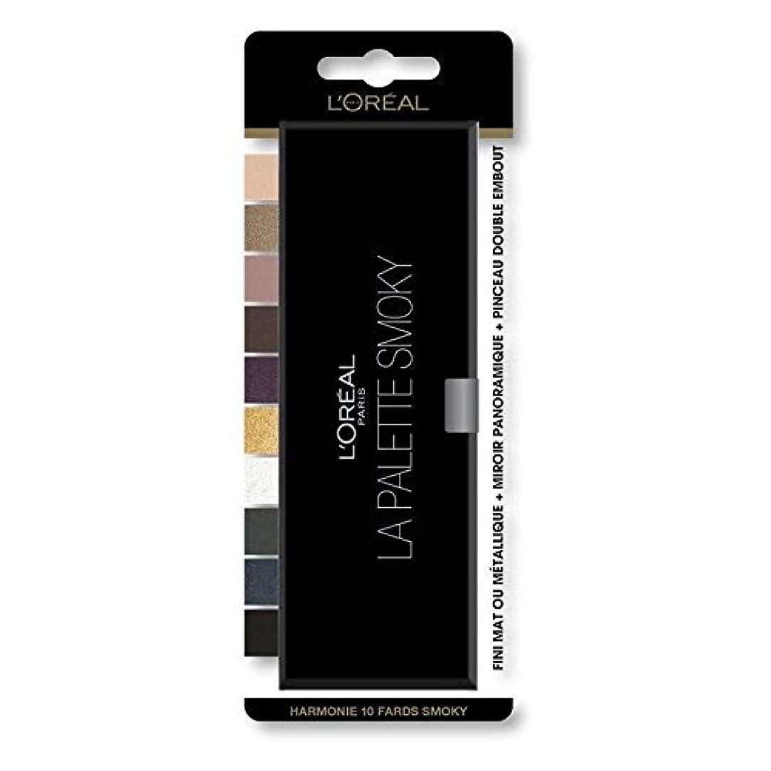 歴史的大臣交換可能LOREAL Color Riche Eyeshadow Palette Nr. 01 Smoky Blisterverpackung Preis pro Stück - Schneller und gepflegte