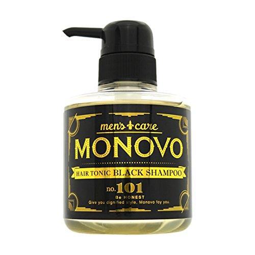 MONOVO ヘアトニックブラックシャンプー 1本 300ml