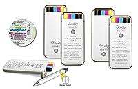 iStudy 聖書キット - 蛍光ペン3本、ペン1本、シャープペン1本、コンパクト収納ケース付き