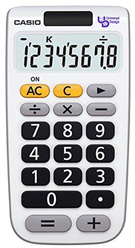 カシオ ユニバーサル電卓 8桁 NU-8A-N