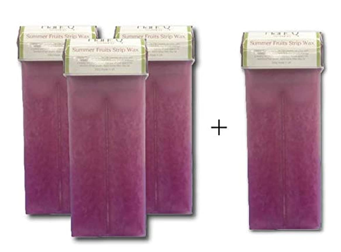 横たわる亡命小康セルフサマーフルーツワックス(100g) 3本セット ブラジリアンワックス