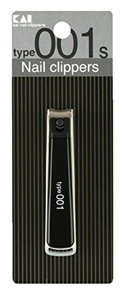 決めます生理全国KE0120 ツメキリType001S黒 × 6個セット