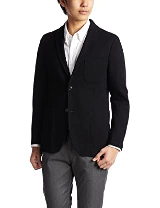 Blended Wool 2-button Jacket 3122-139-0276: Navy
