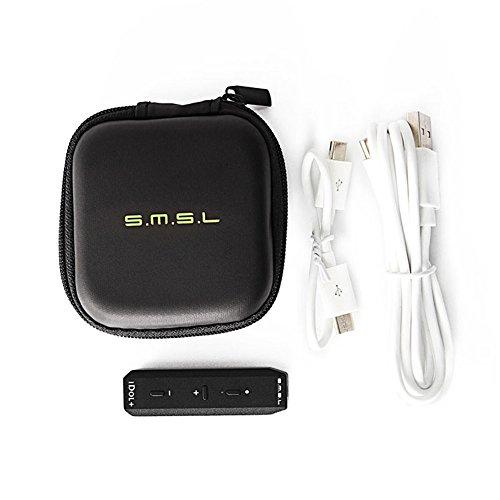 SMSL IDOL+ ヘッドフォンアンプ DAC サウンドカード オーディオコンバータ 192KHZ