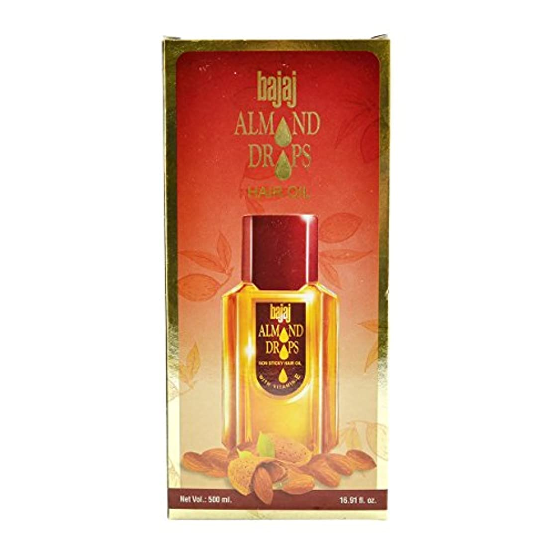 飼料ふけるテレビBajaj Almond Drops Hair Oil -500ml(16.91 Floz.) by Subhlaxmi Grocers
