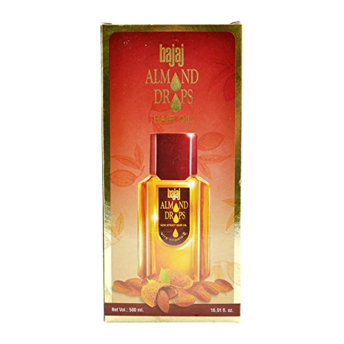 記念品十代金属Bajaj Almond Drops Hair Oil -500ml(16.91 Floz.) by Subhlaxmi Grocers