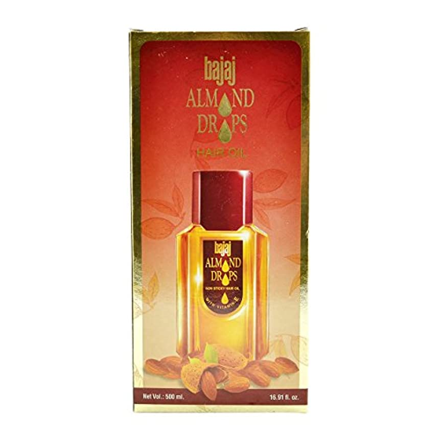 入浴四半期仕方Bajaj Almond Drops Hair Oil -500ml(16.91 Floz.) by Subhlaxmi Grocers