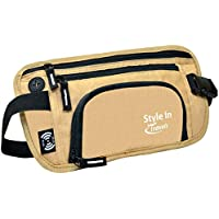 Travel Money Belt & Waist Pack - RFID Blocking Wallet, Waist Bag, Bottle Holder